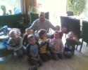 Kindergeburtstag im April 2007 Dieses Foto hat Andrè seinen Freunden geschickt